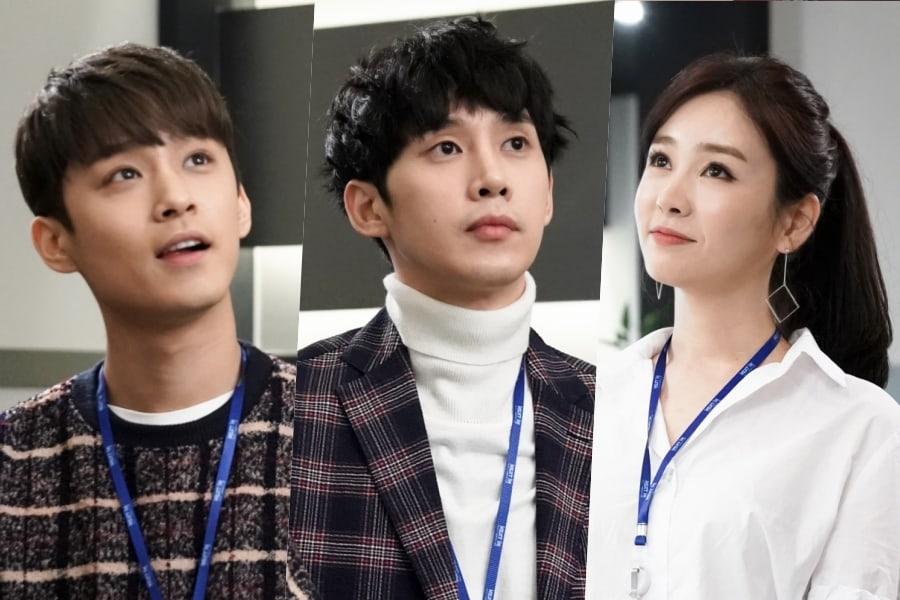 """Lee Jae Jin de FTISLAND, Park Sung Hoon y Gong Seo Young son dedicados empleados en """"Rich Man, Poor Woman"""""""