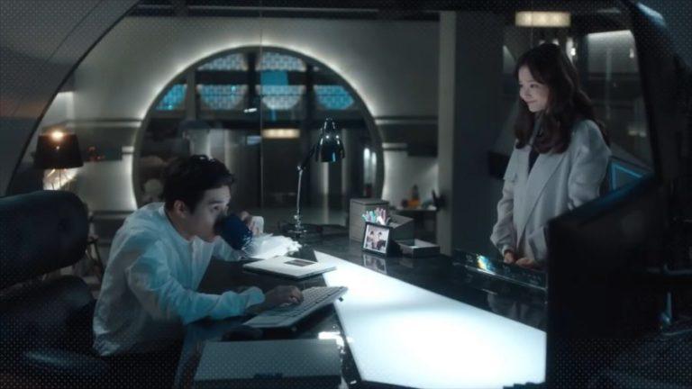 """Suho de EXO y Ha Yeon Soo discuten sobre el café en nuevo teaser de """"Rich Man, Poor Woman"""""""