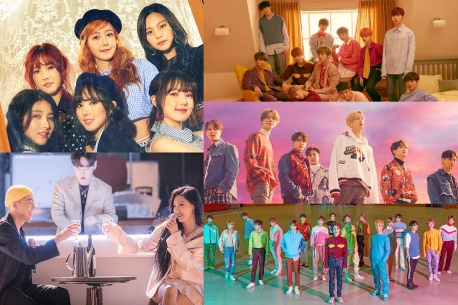 Gaon revela los últimos resultados de su lista semanal + Primeros álbumes certificados platino bajo nuevo sistema