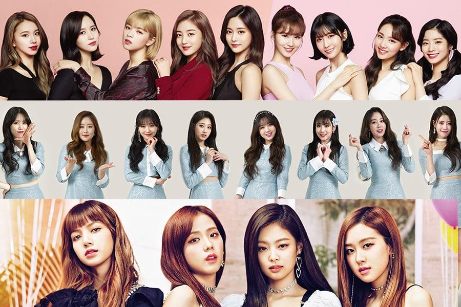 Se revela el ranking de reputación de marca de grupos de chicas para el mes de mayo