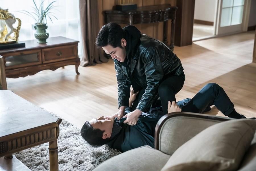"""Jang Geun Suk y Jung Woong In muestran sus habilidades en la actuación en escenas de pelea de """"Switch"""""""