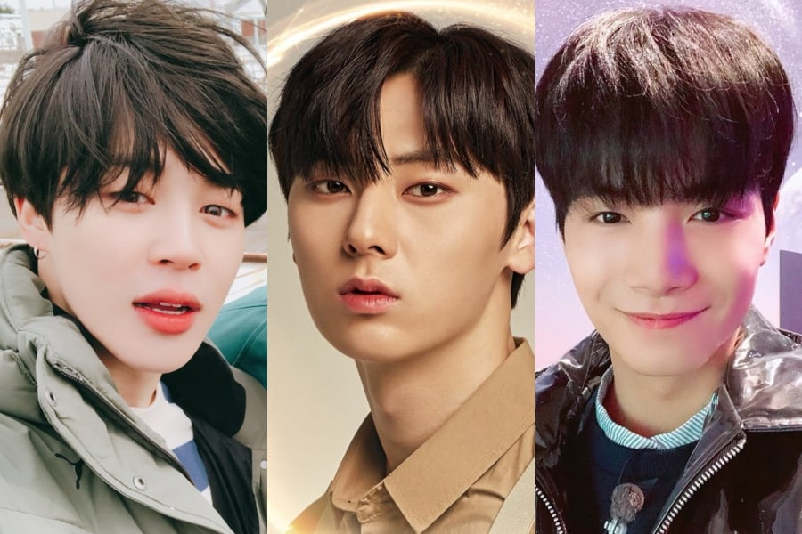 Jimin de BTS, Hwang Min Hyun de Wanna One, JR de NU'EST encabezan la lista de estrellas que parecen dar un buen asesoramiento profesional