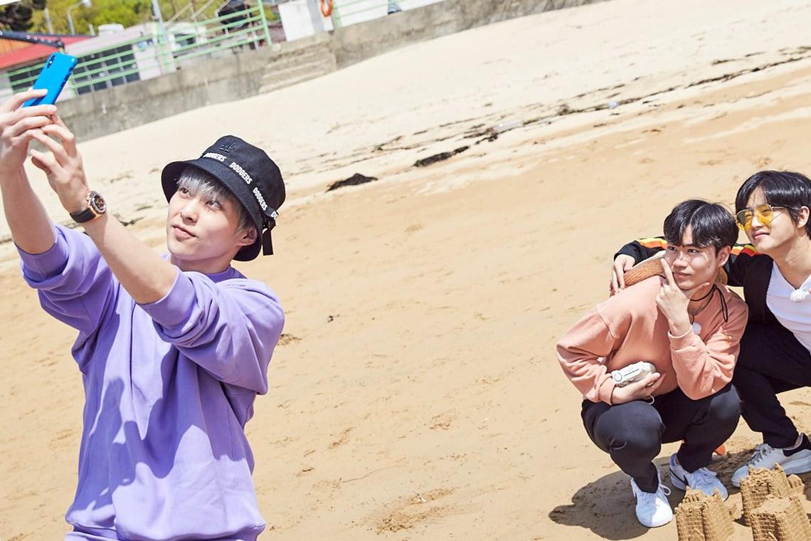 Xiumin de EXO conoce al actor Kim Min Suk y patinador Kim Min Seok