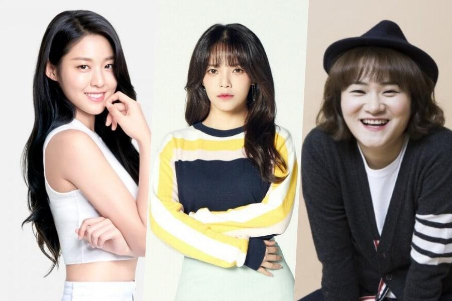 """Seolhyun y Jimin de AOA aparecerán en """"Ask Us Anything"""" junto a Kim Shin Young"""