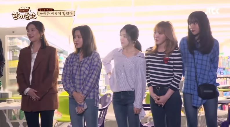 "Red Velvet aparece por sorpresa en ""Let's Eat Dinner Together"""