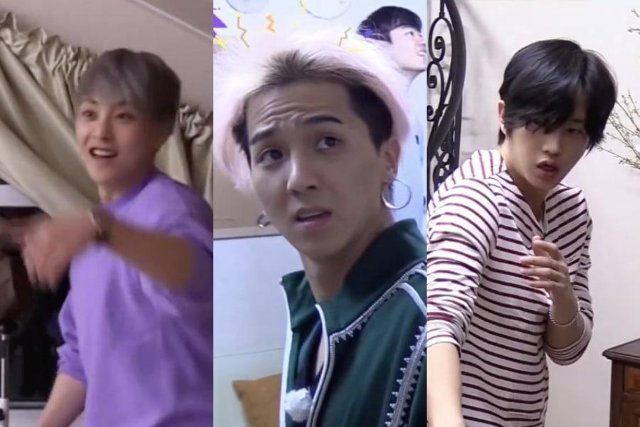 Xiumin de EXO, Song Mino de WINNER y Kim Min Suk dieron divertida batalla contra una polilla