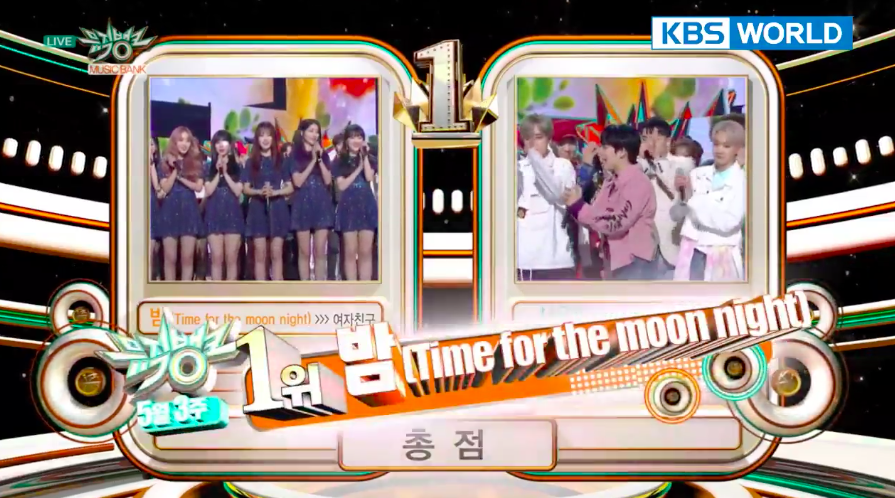 "GFRIEND logra su 8ª victoria por ""Time For The Moon Night"" en ""Music Bank"""