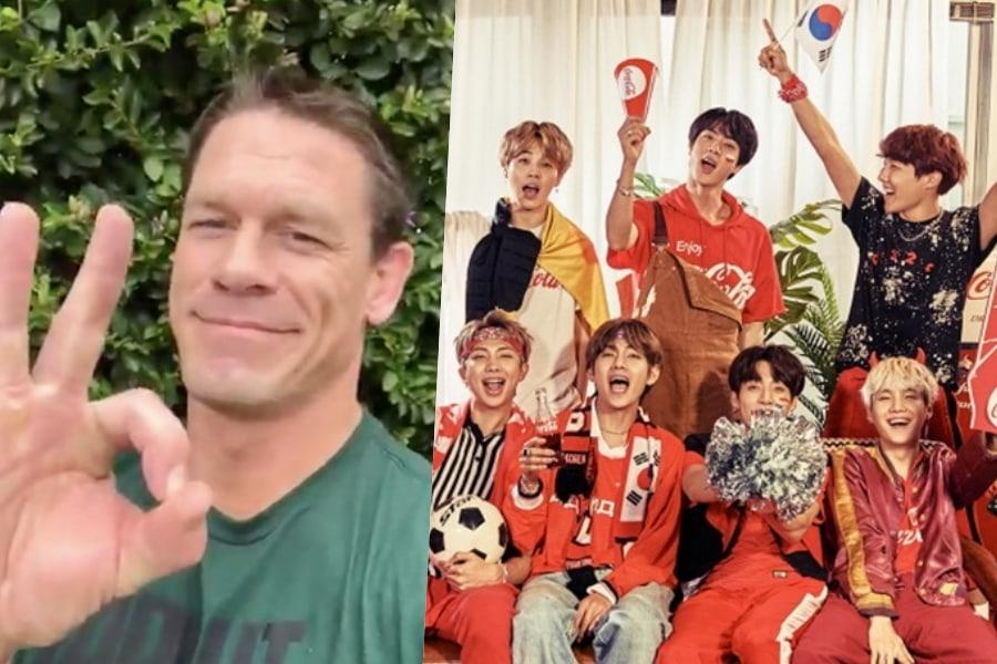 John Cena responde en coreano al llamado de BTS al declarar adorablemente que es un ARMY