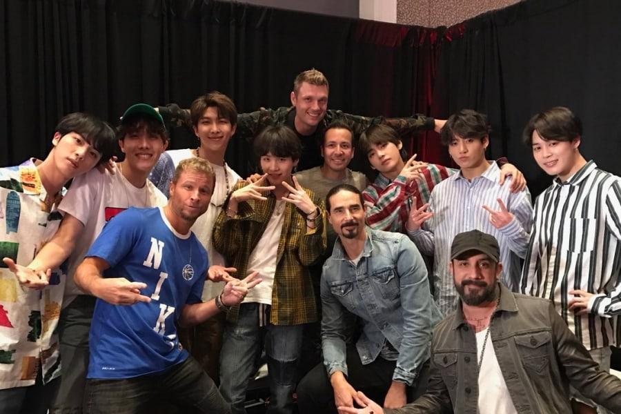 BTS y Backstreet Boys se reúnen después de que Nick Carter expresa interés en una colaboración