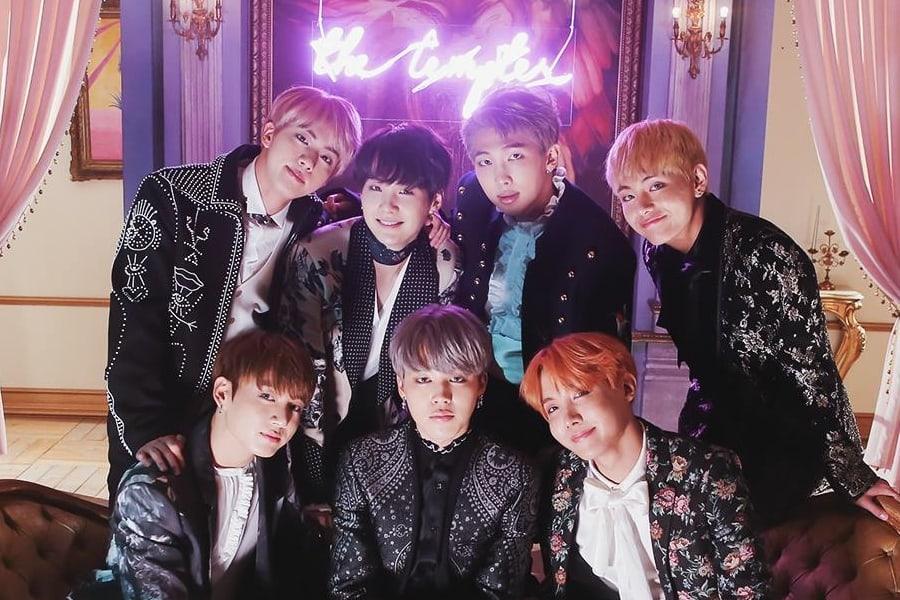 """El MV de BTS """"Blood Sweat & Tears"""" se convierte en su 4º MV en llegar a los 300 millones de reproducciones"""