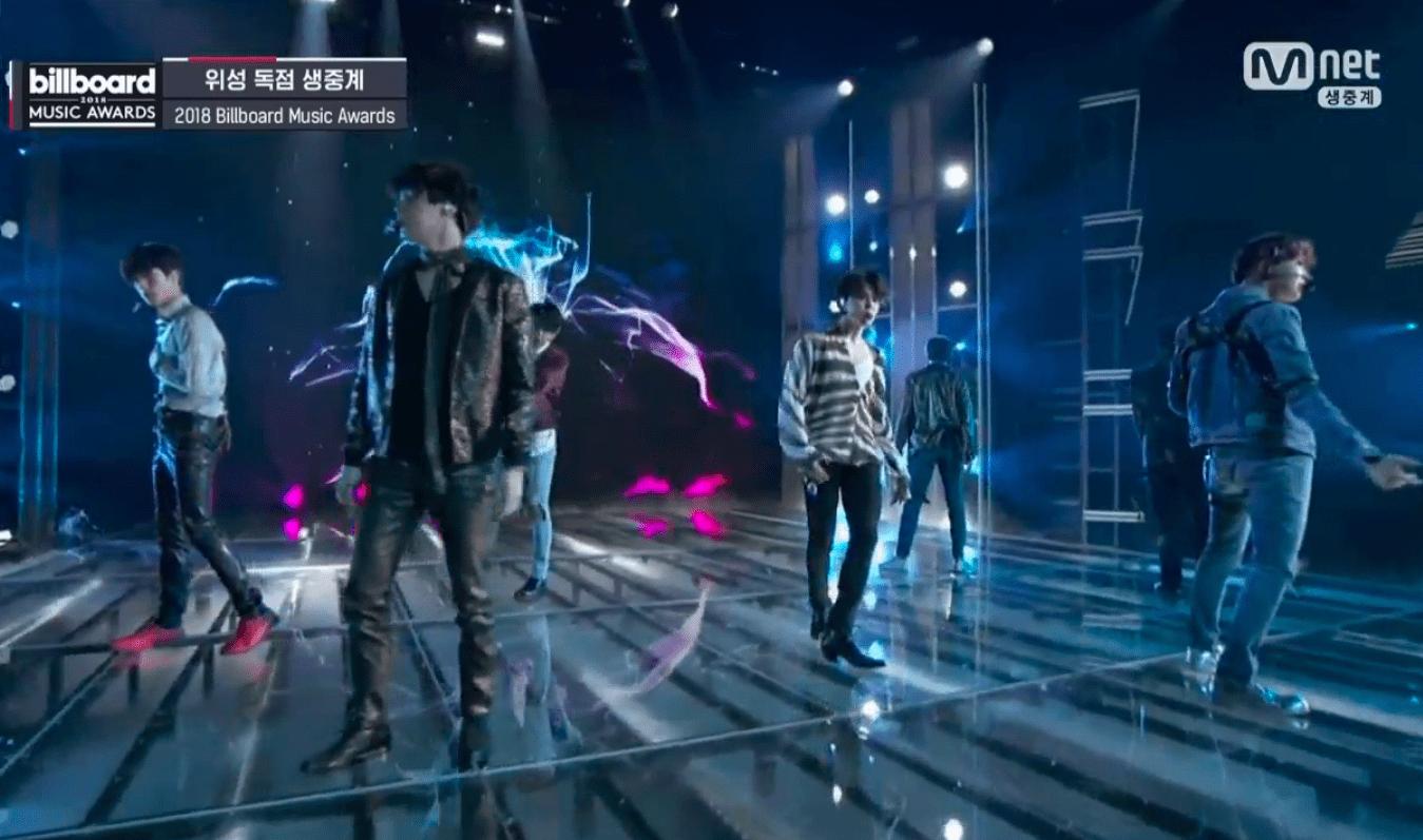 """BTS interpreta """"Fake Love"""" por primera vez en los Billboard Music Awards"""