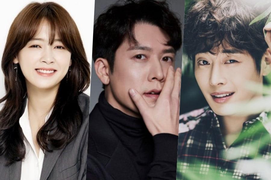 Nam Sang Mi y Jo Hyun Jae se unen a Kim Jae Won como protagonistas de nuevo drama de misterio de SBS