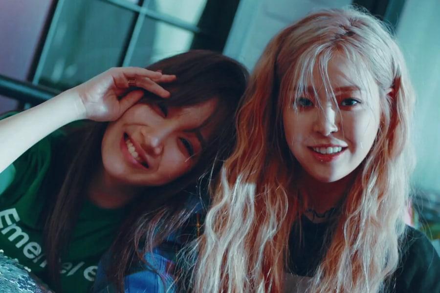 """Euna Kim y Jeon Min Ju de The Ark debutan como el dúo KHAN con el video para """"I'm Your Girl?"""""""