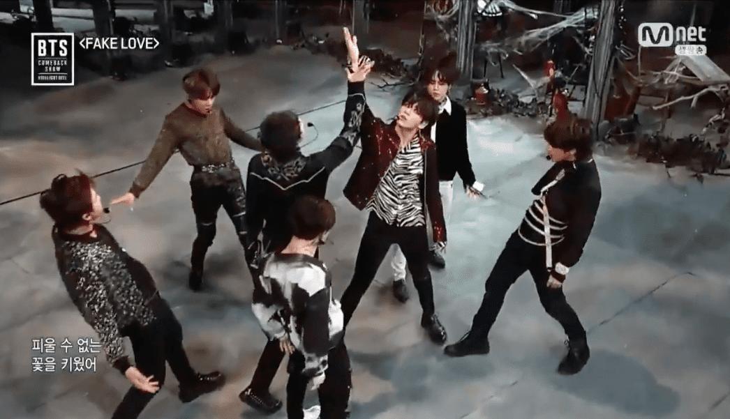 """BTS sorprende con """"Fake Love"""" y las primeras actuaciones de sus nuevas canciones en especial de comeback"""