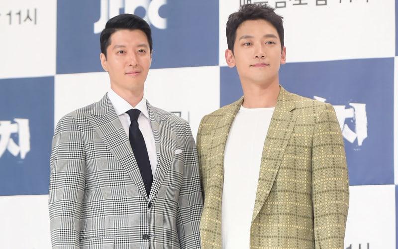 """Lee Dong Gun y Rain hablan sobre trabajar juntos otra vez luego de 15 años a través de """"Sketch"""""""