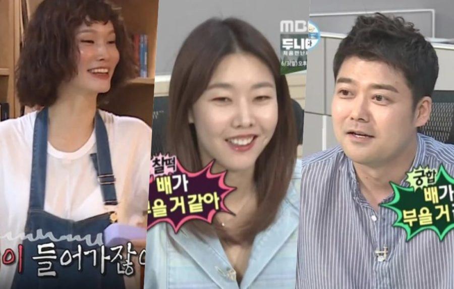 "Song Kyung Ah bromea con Han Hye Jin sobre su relación con Jun Hyun Moo en ""I Live Alone"""
