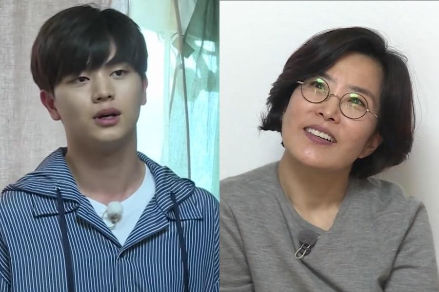 Yook Sungjae de BTOB nerviosamente canta frente a Lee Sun Hee y recibe lecciones de canto