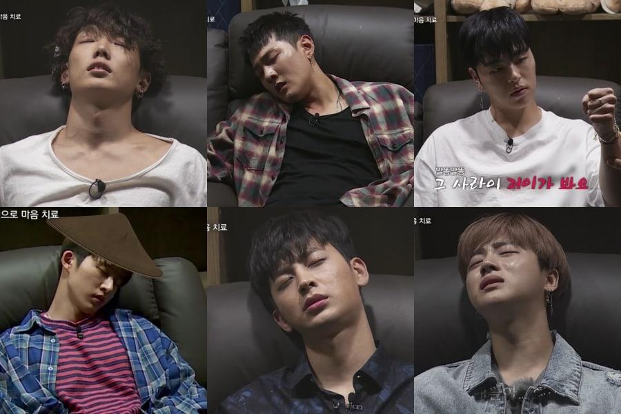 Los miembros de iKON ríen, lloran y reviven su pasado en una visita a un centro de hipnosis