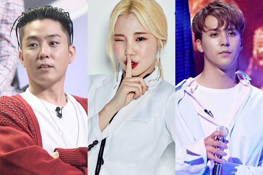 """Eun Ji Won de SECHSKIES, JooE de MOMOLAND y Son Dongwoon de Highlight conducirán """"School Attack 2018"""""""