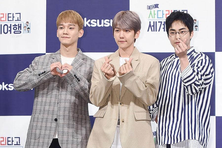 Xiumin de EXO explica por qué Baekhyun y Chen nunca se han duchado con él