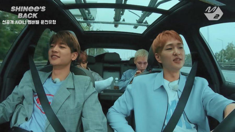 SHINee muestra sus diferentes personalidades mientras conduce en nuevo previo de su reality show