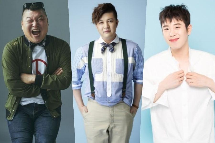 Kang Ho Dong, Shindong de Super Junior y P.O. de Block B. se unen a un nuevo programa