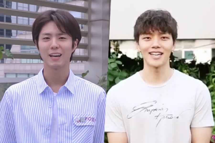 """Park Bo Gum y Yeo Jin Goo participan en el """"Ice Bucket Challenge"""" del 2018 después de que se etiquetaron uno al otro"""