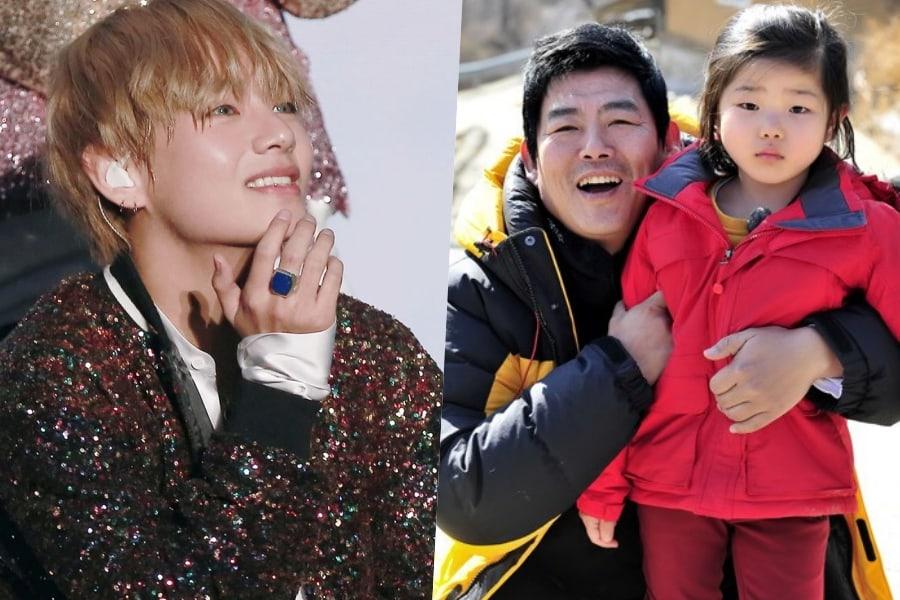 Sung Dong Il dice que V de BTS es fan de su hija y le envió un regalo