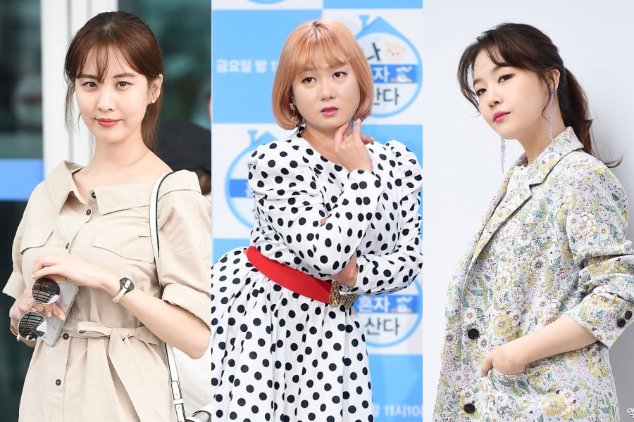 """Seohyun de Girls' Generation, Park Na Rae, Minah de Girl's Day y otros más se unen al """"Ice Bucket Challenge 2018"""""""