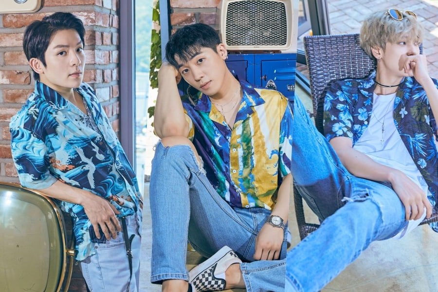 [Actualizado] Teen Top se relaja en looks veraniegos en fotos teaser para el álbum repackaged de su octavo aniversario