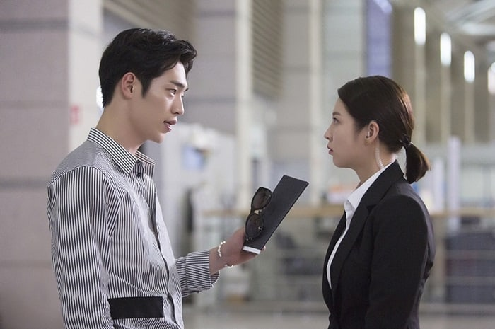 """Seo Kang Joon y Gong Seung Yeon tienen un tenso 1er encuentro en """"Are You Human, Too?"""""""