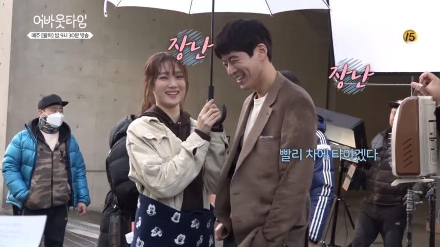 """Lee Sang Yoon y Lee Sung Kyung muestran su lado bromista en un vídeo tras las cámaras de """"About Time"""""""