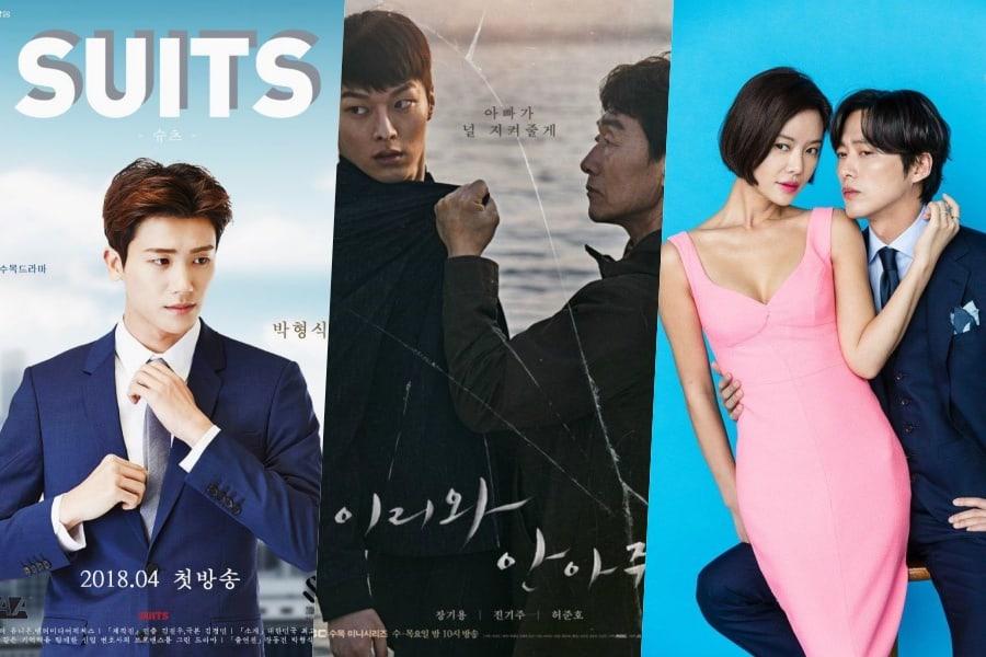 """""""Suits"""" ocupa el primer lugar de audiencia entre los dramas nocturnos de los miércoles"""