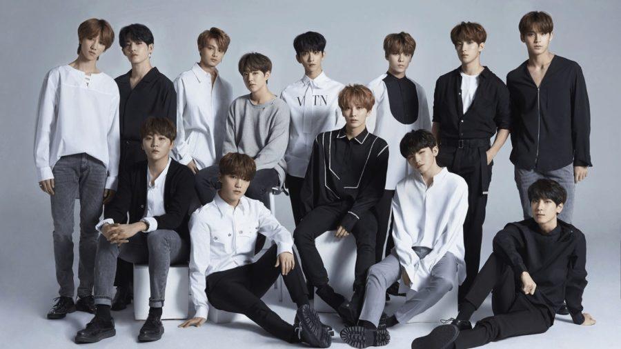 SEVENTEEN ocupa una alta posición en el chart diario y semanal de álbumes de Oricon