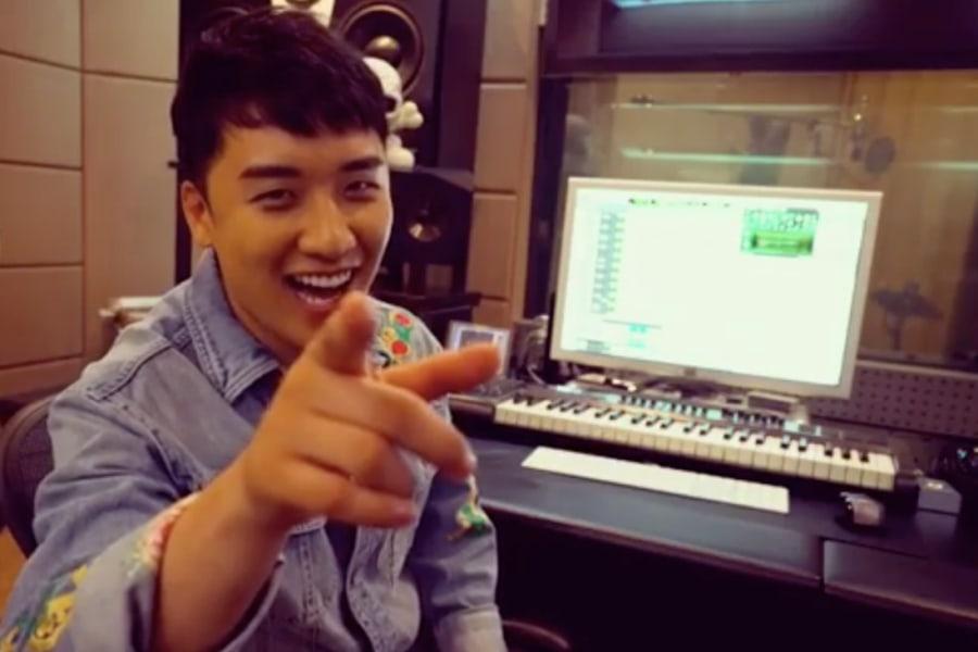 Seungri de BIGBANG emociona a los fans con un video de la última sesión de grabación de su álbum en solitario con Teddy