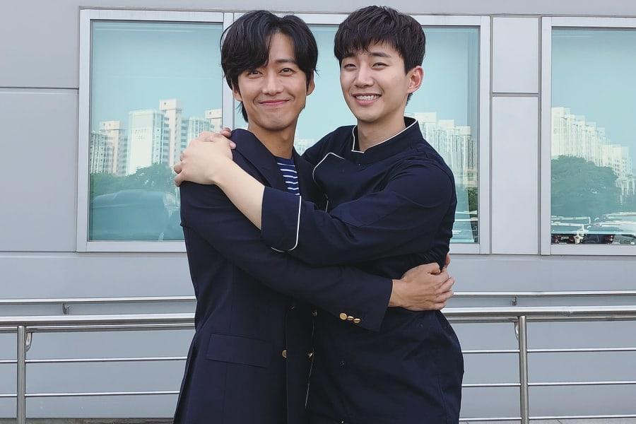 """Las co-estrellas de """"Chief Kim"""", Namgoong Min y Junho de 2PM, reavivan su bromance"""