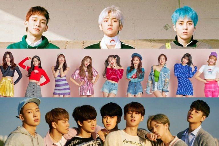 EXO-CBX, TWICE y iKON reciben certificaciones oficiales de platino de Gaon