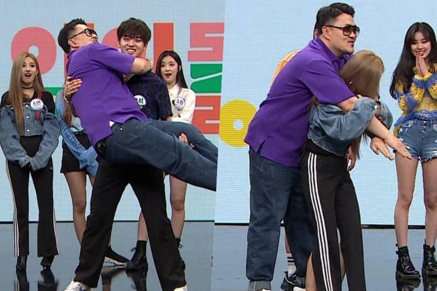 """Hongseok de PENTAGON y Jeon Soyeon de (G)I-DLE levantan exitosamente a Defconn en """"Idol Room"""""""