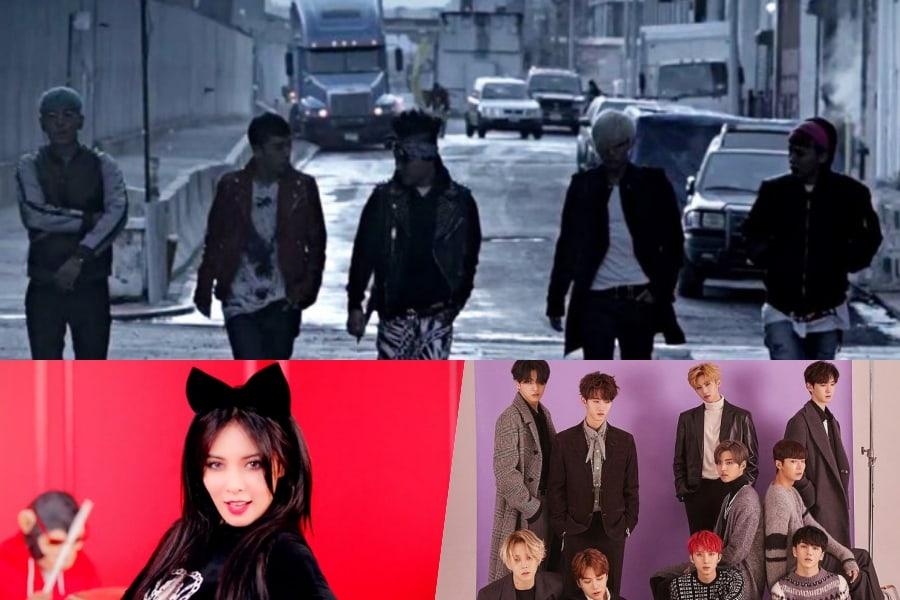 Un arcoíris de K-Pop: 11 canciones que deberías escuchar en base a tus colores favoritos