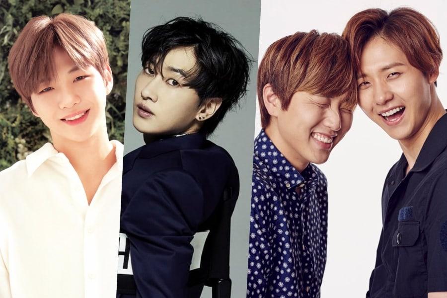 Kang Daniel, Eunhyuk, los miembros de B1A4 y más continúan el Ice Bucket Challenge 2018