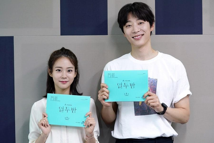 Han Seung Yeon y Shin Hyun Soo se reúnen para la primera lectura de guión de nuevo drama romántico