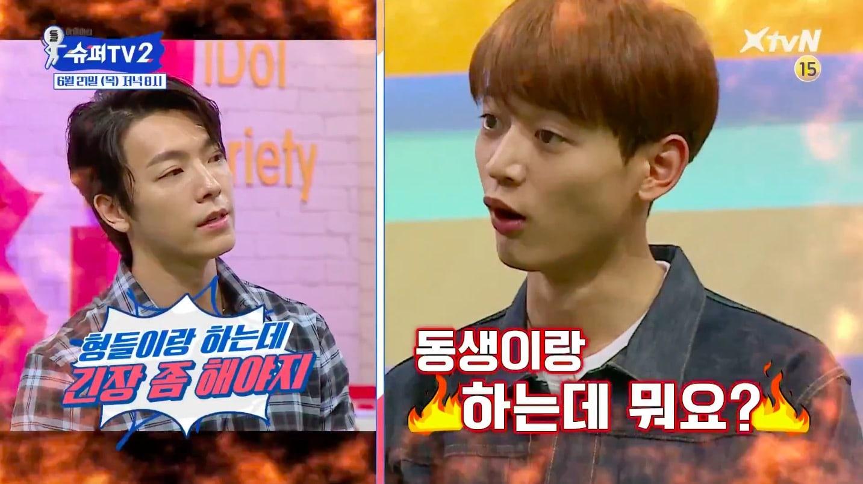"""Super Junior y SHINee se enfrentan en divertido adelanto de """"Super TV 2"""""""