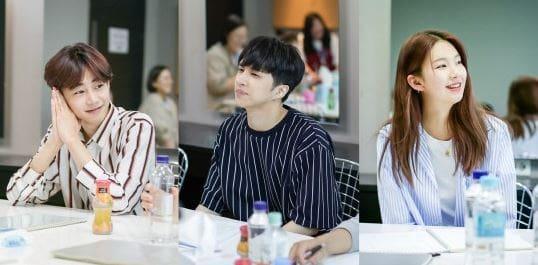 Ken de VIXX, Park Ji Bin y Kim Jin Kyung se reúnen para la primera lectura del guion de nuevo drama