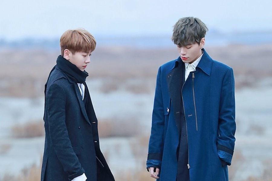 "Noh Tae Hyun y Kim Sang Gyun cantan ""Don't Leave Me"" de J.pearl con Junhyuk de HOTSHOT y Sangwon de XENO-T"