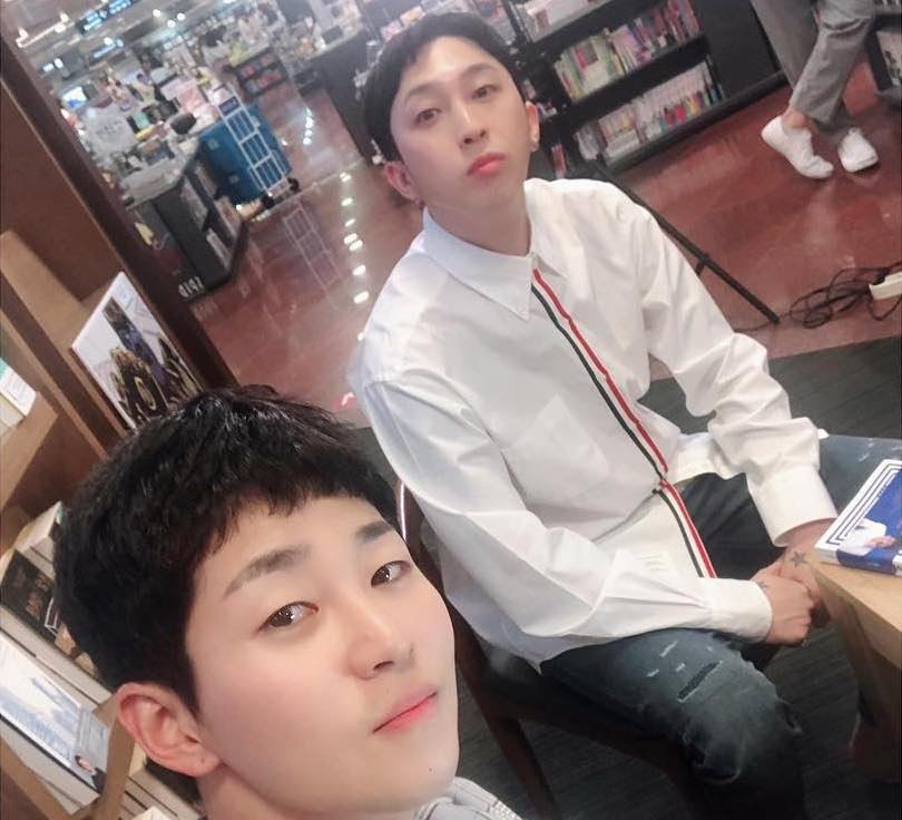 Sleepy se disculpa con Jung Hae In y Park Seo Joon por compararse a si mismo y a DinDin con ellos