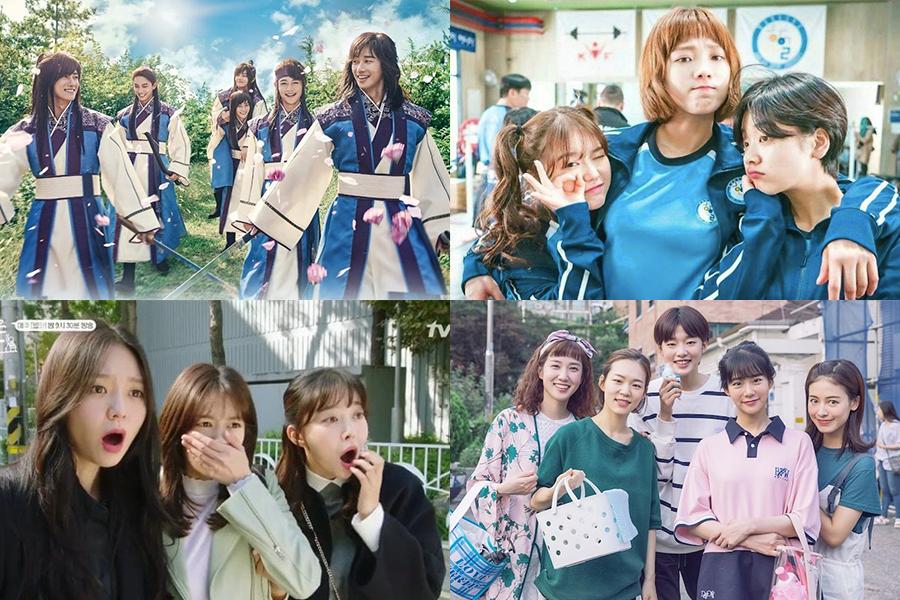9 grupos de amigos de K-Dramas que son #SquadGoals