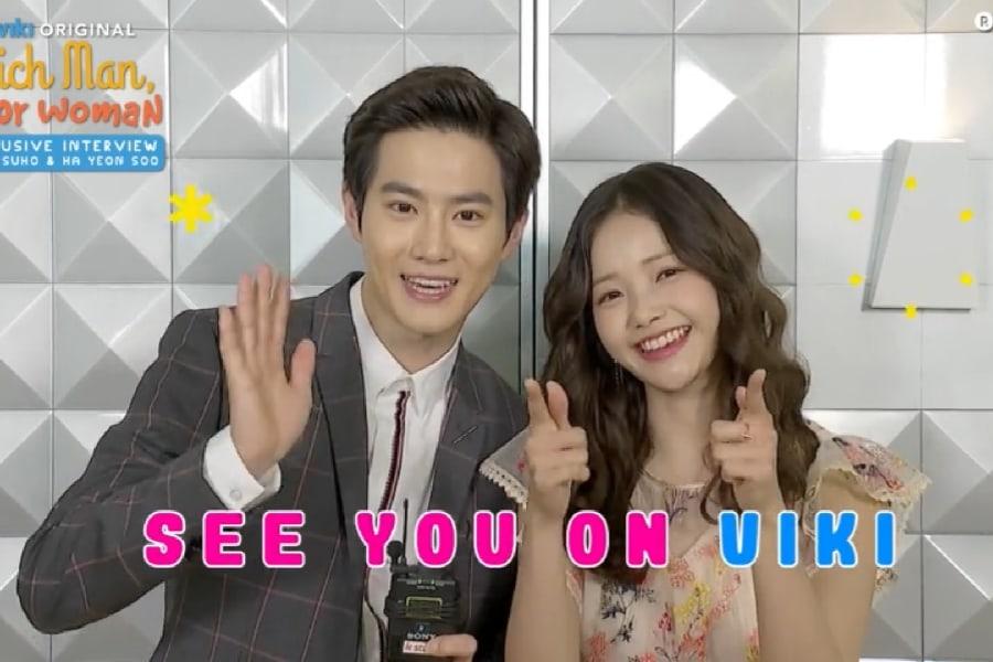 Suho de EXO y Ha Yeon Soo demuestran su hilarante y dulce química