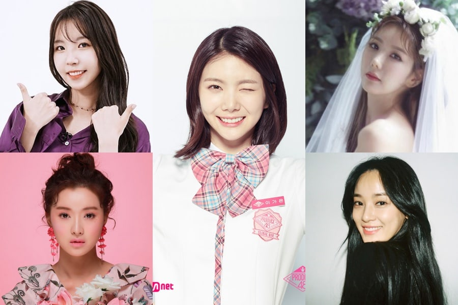 """Las anteriores y actuales miembros de After School apoyan a Lee Ga Eun en """"Produce 48"""""""