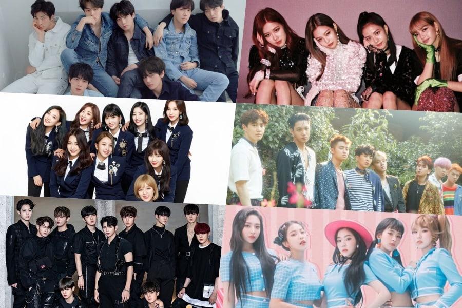 Expertos de la industria clasifican a las personas más influyentes en la industria de la música coreana