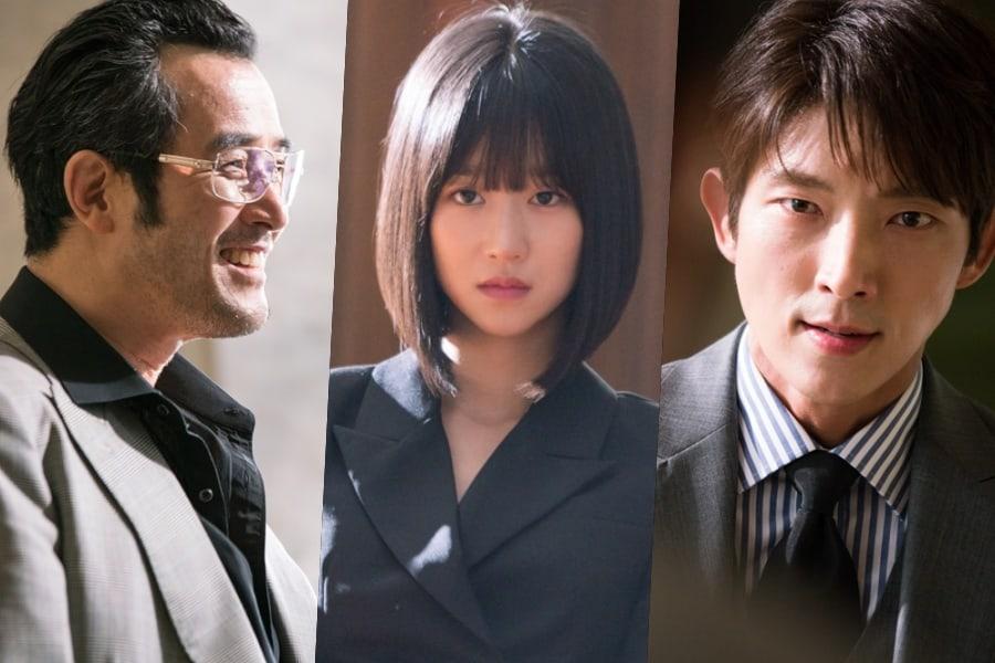 """Choi Min Soo lanza un ataque para Seo Ye Ji y Lee Joon Gi en """"Lawless Lawyer"""""""